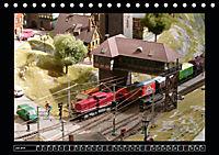 Kleine Bahnen international, TT-N-H0 (Tischkalender 2019 DIN A5 quer) - Produktdetailbild 7