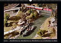 Kleine Bahnen international, TT-N-H0 (Wandkalender 2019 DIN A3 quer) - Produktdetailbild 4
