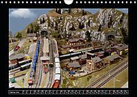 Kleine Bahnen international, TT-N-H0 (Wandkalender 2019 DIN A4 quer) - Produktdetailbild 2