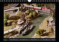 Kleine Bahnen international, TT-N-H0 (Wandkalender 2019 DIN A4 quer) - Produktdetailbild 4