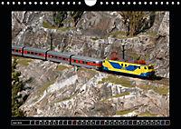 Kleine Bahnen international, TT-N-H0 (Wandkalender 2019 DIN A4 quer) - Produktdetailbild 6