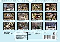 Kleine Bahnen international, TT-N-H0 (Wandkalender 2019 DIN A4 quer) - Produktdetailbild 13
