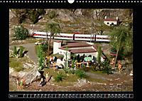 Kleine Bahnen international, TT-N-H0 (Wandkalender 2019 DIN A3 quer) - Produktdetailbild 3