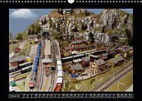 Kleine Bahnen international, TT-N-H0 (Wandkalender 2019 DIN A3 quer) - Produktdetailbild 2