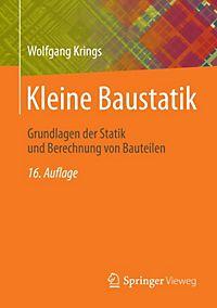 Kleine baustatik buch von horst herrmann portofrei for Baustatik buch