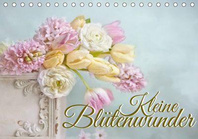 Kleine Blütenwunder (Tischkalender 2019 DIN A5 quer), Lizzy Pe