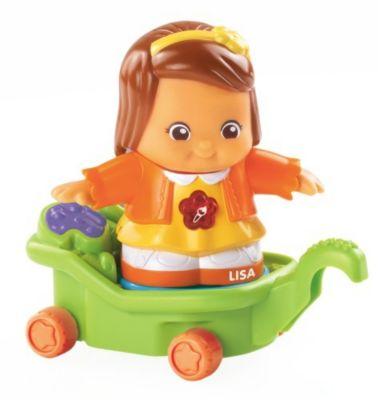 Kleine Entdeckerbande - Lisa mit Wagen