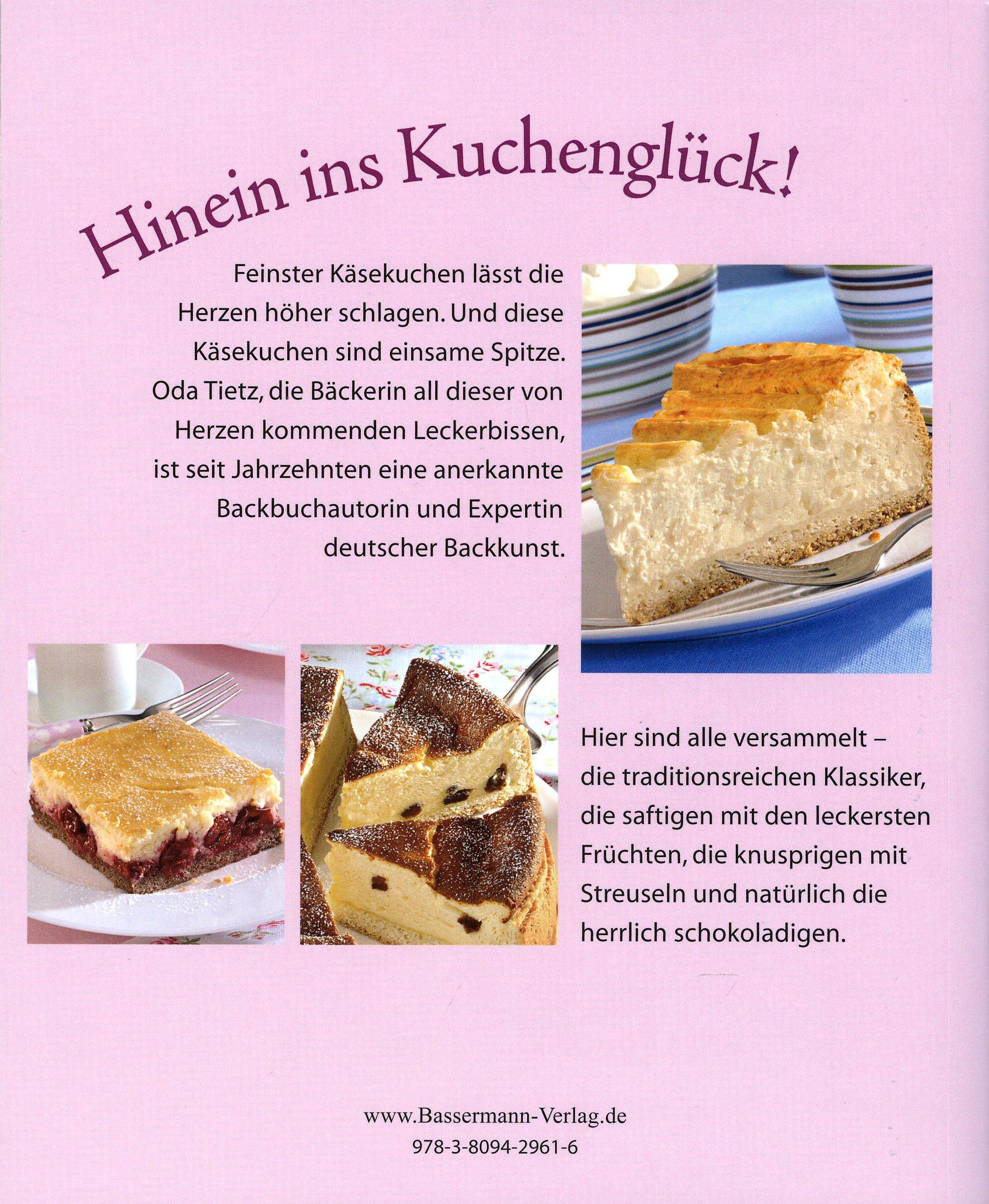 Kleine Kasekuchen Vom Blech Rezeptbuch Inklusive Backform Buch