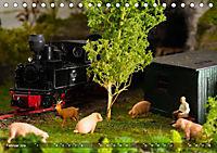 Kleine Waldbahn-Welt - Modellbahn in Spur 0 (Tischkalender 2019 DIN A5 quer) - Produktdetailbild 2