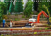 Kleine Waldbahn-Welt - Modellbahn in Spur 0 (Tischkalender 2019 DIN A5 quer) - Produktdetailbild 11
