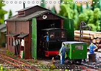Kleine Waldbahn-Welt - Modellbahn in Spur 0 (Tischkalender 2019 DIN A5 quer) - Produktdetailbild 12