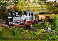 Kleine Waldbahn-Welt - Modellbahn in Spur 0 (Tischkalender 2019 DIN A5 quer) - Produktdetailbild 5