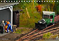 Kleine Waldbahn-Welt - Modellbahn in Spur 0 (Tischkalender 2019 DIN A5 quer) - Produktdetailbild 9