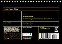Kleiner Nager - Maus (Tischkalender 2019 DIN A5 quer) - Produktdetailbild 13