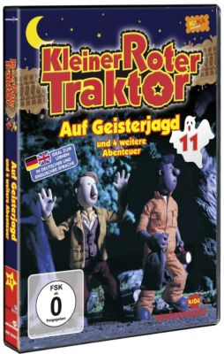 Kleiner Roter Traktor 11 - Auf Geisterjagd, Colin Reeder, Peter Tye, Keith Littler, Russell Haigh, Jimmy Hibbert