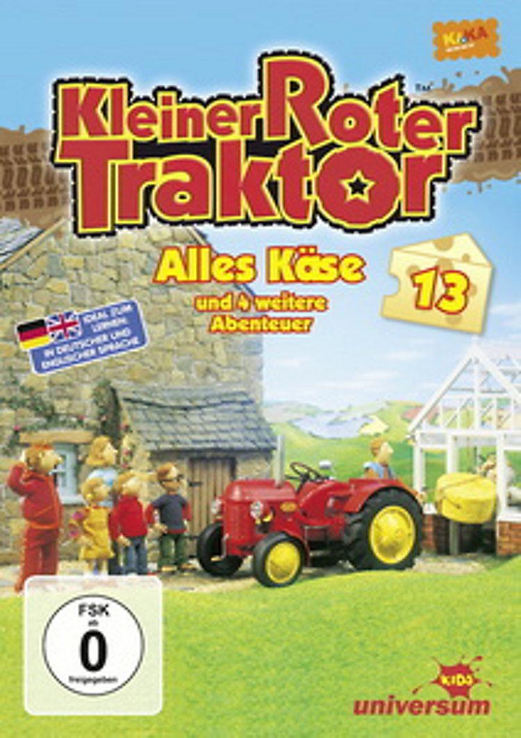 kleiner roter traktor 13  alles käse dvd  weltbildde