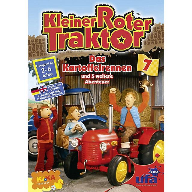 kleiner roter traktor 7  das kartoffelrennen dvd