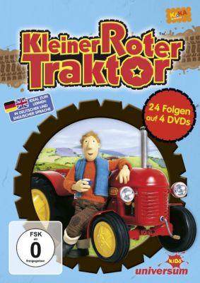 Kleiner Roter Traktor Box (DVD 1-4), Kleiner roter Traktor Box (DVD 1-4)