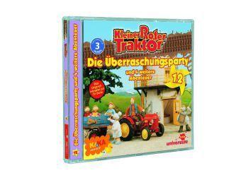 Kleiner Roter Traktor - Die Überraschungsparty und 4 weitere Abenteuer, 1 Audio-CD, Kleiner Roter Traktor 12