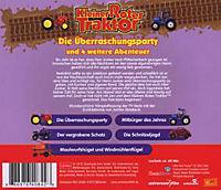 Kleiner Roter Traktor - Die Überraschungsparty und 4 weitere Abenteuer, 1 Audio-CD - Produktdetailbild 1