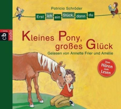 Kleines Pony, großes Glück, 1 Audio-CD, Patricia Schröder