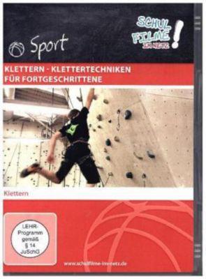 Klettern - Klettertechniken für Fortgeschrittene, 1 DVD