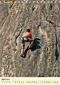 Klettern und Bergsteigen (Tischkalender 2019 DIN A5 hoch) - Produktdetailbild 4