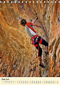 Klettern und Bergsteigen (Tischkalender 2019 DIN A5 hoch) - Produktdetailbild 6