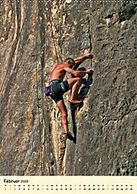 Klettern und Bergsteigen (Wandkalender 2019 DIN A2 hoch) - Produktdetailbild 2