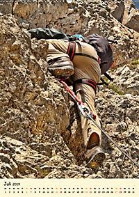 Klettern und Bergsteigen (Wandkalender 2019 DIN A2 hoch) - Produktdetailbild 7