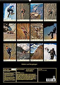 Klettern und Bergsteigen (Wandkalender 2019 DIN A2 hoch) - Produktdetailbild 13