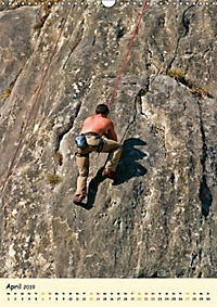 Klettern und Bergsteigen (Wandkalender 2019 DIN A3 hoch) - Produktdetailbild 4