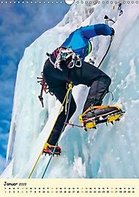 Klettern und Bergsteigen (Wandkalender 2019 DIN A3 hoch) - Produktdetailbild 1