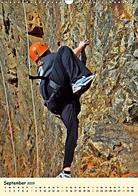 Klettern und Bergsteigen (Wandkalender 2019 DIN A3 hoch) - Produktdetailbild 9