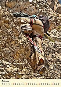Klettern und Bergsteigen (Wandkalender 2019 DIN A3 hoch) - Produktdetailbild 7