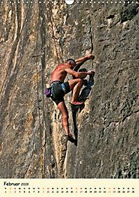 Klettern und Bergsteigen (Wandkalender 2019 DIN A3 hoch) - Produktdetailbild 2