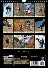 Klettern und Bergsteigen (Wandkalender 2019 DIN A4 hoch) - Produktdetailbild 13