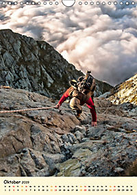 Klettern und Bergsteigen (Wandkalender 2019 DIN A4 hoch) - Produktdetailbild 10