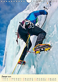 Klettern und Bergsteigen (Wandkalender 2019 DIN A4 hoch) - Produktdetailbild 1