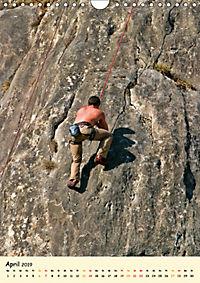 Klettern und Bergsteigen (Wandkalender 2019 DIN A4 hoch) - Produktdetailbild 4
