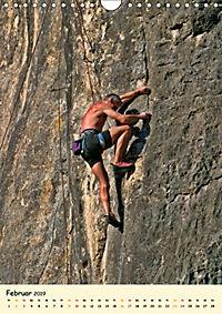 Klettern und Bergsteigen (Wandkalender 2019 DIN A4 hoch) - Produktdetailbild 2