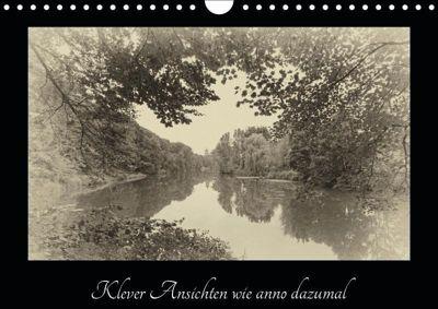 Klever Ansichten wie anno dazumal (Wandkalender 2019 DIN A4 quer), Gudrun Nitzold-Briele