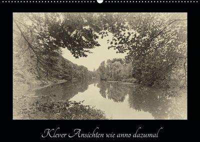 Klever Ansichten wie anno dazumal (Wandkalender 2019 DIN A2 quer), Gudrun Nitzold-Briele