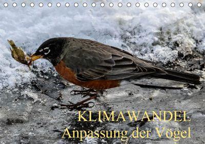 KLIMAWANDEL Anpassung der Vögel (Tischkalender 2019 DIN A5 quer), WIDO HOVILLE