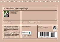 KLIMAWANDEL Anpassung der Vögel (Tischkalender 2019 DIN A5 quer) - Produktdetailbild 13