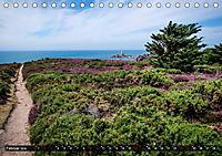 Klippen und Meer. Fantastische Ausblicke auf den Inseln im Ärmelkanal (Tischkalender 2019 DIN A5 quer) - Produktdetailbild 2