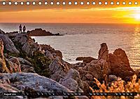 Klippen und Meer. Fantastische Ausblicke auf den Inseln im Ärmelkanal (Tischkalender 2019 DIN A5 quer) - Produktdetailbild 8