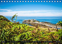 Klippen und Meer. Fantastische Ausblicke auf den Inseln im Ärmelkanal (Tischkalender 2019 DIN A5 quer) - Produktdetailbild 7