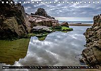 Klippen und Meer. Fantastische Ausblicke auf den Inseln im Ärmelkanal (Tischkalender 2019 DIN A5 quer) - Produktdetailbild 5