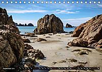 Klippen und Meer. Fantastische Ausblicke auf den Inseln im Ärmelkanal (Tischkalender 2019 DIN A5 quer) - Produktdetailbild 9